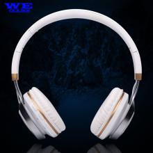 Cool! Flash LED Earcups Bluetooth Wireless Speaker Stereo HiFi Music Headset Foldable Earphone TF FM Mic for Cellphone