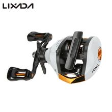 Lixada High Speed Baitcasting Fishing Reel Lure Fishing Reel 12+1 Ball Bearings Baitcasting Reel Fishing Fly Fishing Reel