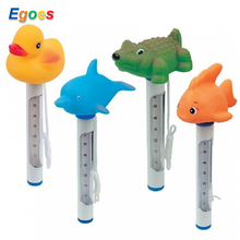 Egoes Animal Floating Swimming Thermometer for Pools and Spas 58110(China)