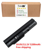 "Laptop Battery For MSI Wind U90 U90X U91 U100 U100X U110 U115 U120 U123 U130 U135 U150 U200 U210 U223 U230 U250 U100 10"" T10"
