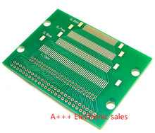 50 p test board turn 2.0 2.54 double row needle LCM TFT LCD transfer PCB board test board 5pcs
