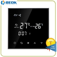 Beok TGT70-AC Smart Central Air Conditioning Temperature Controller Programming Thermoregulator 2/4pipe Fan Coil Room Thermostat(China)