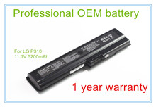 5200mah NEW Rechargeable laptop battery LB6211BE for P300 P310 11.1V 6Cells(China)