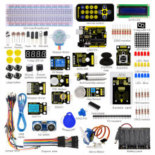 New Packing! Keyestudio Super Starter kit/Learning Kit(UNO R3) for arduino Starter kit with 32 Projects +1602 LCD RFID+PDF(China)