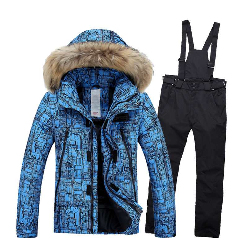 2016 winter ski jacket men jackets and pants snow jacket waterproof thermal coat hiking camping cycling jacket <br><br>Aliexpress