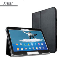 Crazy hot price smart book case for s amsung Galaxy tab 3 10.1 gt-P5200 P5210 Leather smart cover with magnetic sleep&awake