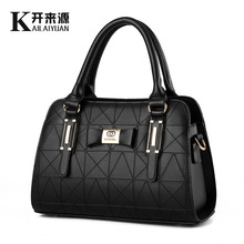 100% Genuine leather Women handbags 2018 new bag handbag female Korean fashion handbag Crossbody shaped sweet Shoulder Handbag(China)