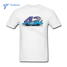 New Summer Plymouth Superbird Nascar T Shirt New Design Tee Shirt For Adults 100% Cotton Lifestyle Men Short Sleeve T-shirt(China)