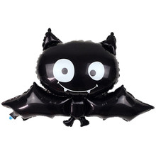 TSZWJ V-017 new 88cm * 64cm black bat Halloween foil balloon toys for children birthday party balloons