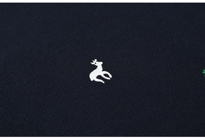 2Pcs Lot Mens  Shirt Coon Polka Dot Summer Short 3XL Male  Men Top Tees Cool Muls Brand Clothing Navy Black White Gray-05