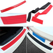 Car Styling SUV Body Rear Bumper Protector Trim Cover Protective Strip for ACURA mdx rdx tl tsx rl zdx integra rsx accessories(China)