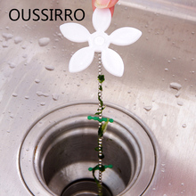 2Pcs/lot Strap Pipe Hook Kitchen Faucet Accessory  Sink Strainer Drain Hair Catcher Clog Sink Strainer For Bathroom Bath Tub