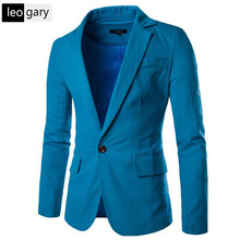 Hit Color Small Collar Design Men Blazer Jacket 2017 High quality Fashion Slim Mens Blazers Comfortable Men Brand Clothing