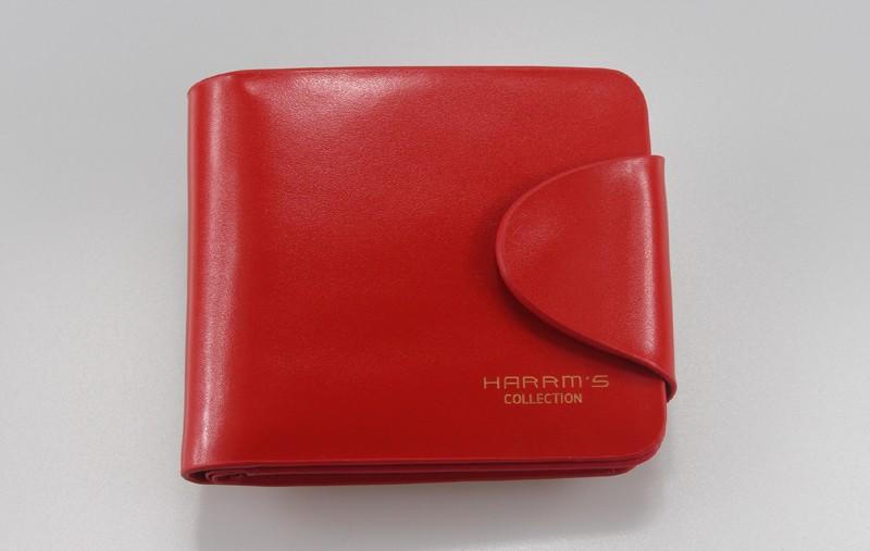HTB1hVkwLFXXXXXzapXXq6xXFXXXU - Harrm's Brand Classical Fashion genuine leather women wallets short red blue Color female lady Purse for women with coin pocket