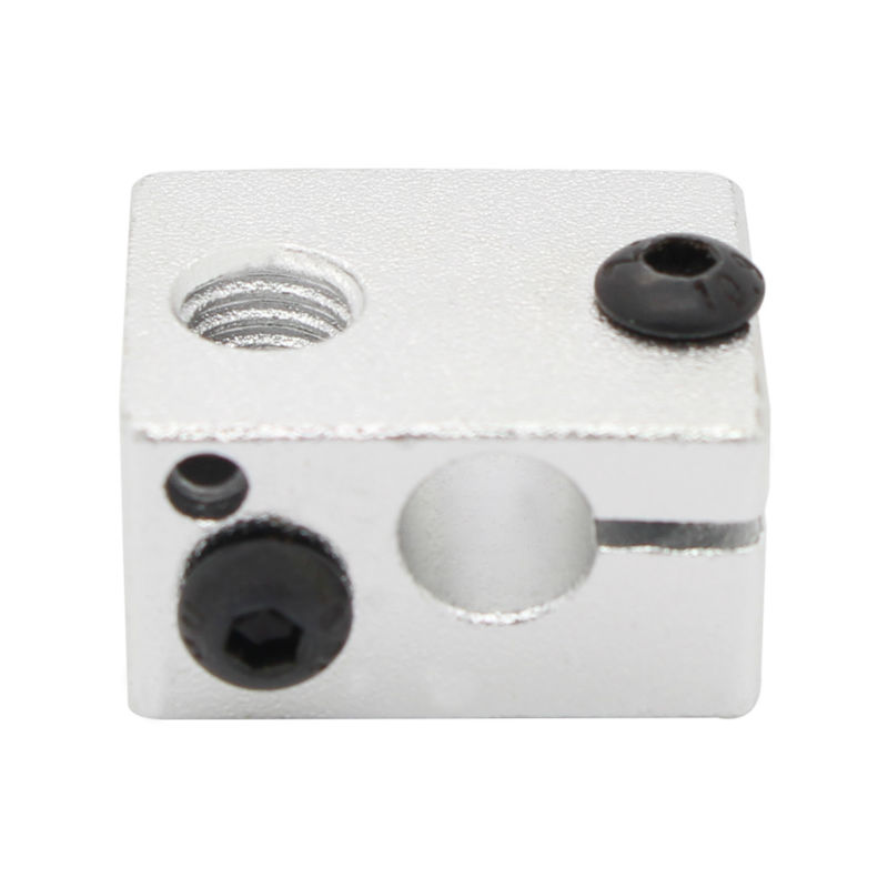 5pcs Aluminium Heat Block for 3d printer V6 J-head Makerbot MK7/MK8 Extruder 16mmx16mmx12mm Free shipping!!!<br><br>Aliexpress