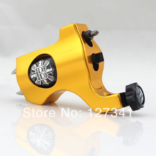 Premium Yellow PVD Aluminum Bishop Rotary Tattoo Machine Wholesale Tattoo Supply  Liner Shader Combined
