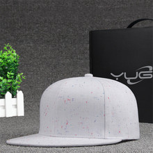YUG New Arrival spring and summer hat fashion Korean men and women hip-hop BaseballCap spots flat hat(China)