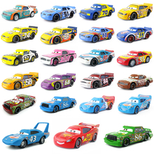 Disney Pixar Cars Racer King Chick Hicks Dinoco Lightning McQueen Metal Toy Car For Kids Gift 1:55 Brand New & Free Shipping(China)