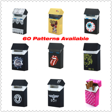 Tongue Silicone Cigarette Case Silicone Box Lady 20 Women Cigaret Box Cigarette Box Case Pitillera De Silicona Cigarete