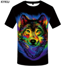 Buy New Brand Graffiti T shirt Wolf Top Tees Black Top Tees Clothes Womens Clothes Women Anime clothing Sexy Female Summer 2017 for $7.06 in AliExpress store