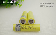 6pcs original he4 2500mah lithium ion 18650 battery 3.7v for lg power batteries 20a 35a download electronic cigarette battery