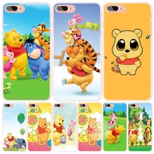 My Friends Tigger&Winnie the Pooh Bear cell phone Cover case for iphone 6 4 4s 5 5s SE 5c 6 6s 7 plus case for iphone 7