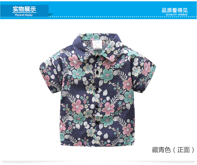 2 10 Years Birthday Kids Clothes 2018 Summer Fashion Cotton Flower Floral Print Short Sleeve