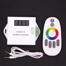 DC 12V LED Music Controller Dream Color RGB LED Controller Touch Remote For WS2811 WS2812B WS2813 1903 IC LED Strip 5050