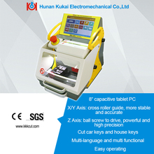 Halloween promotion!free shipping SEC-E9 portable fully automatic key cutting machine, car key copy machine