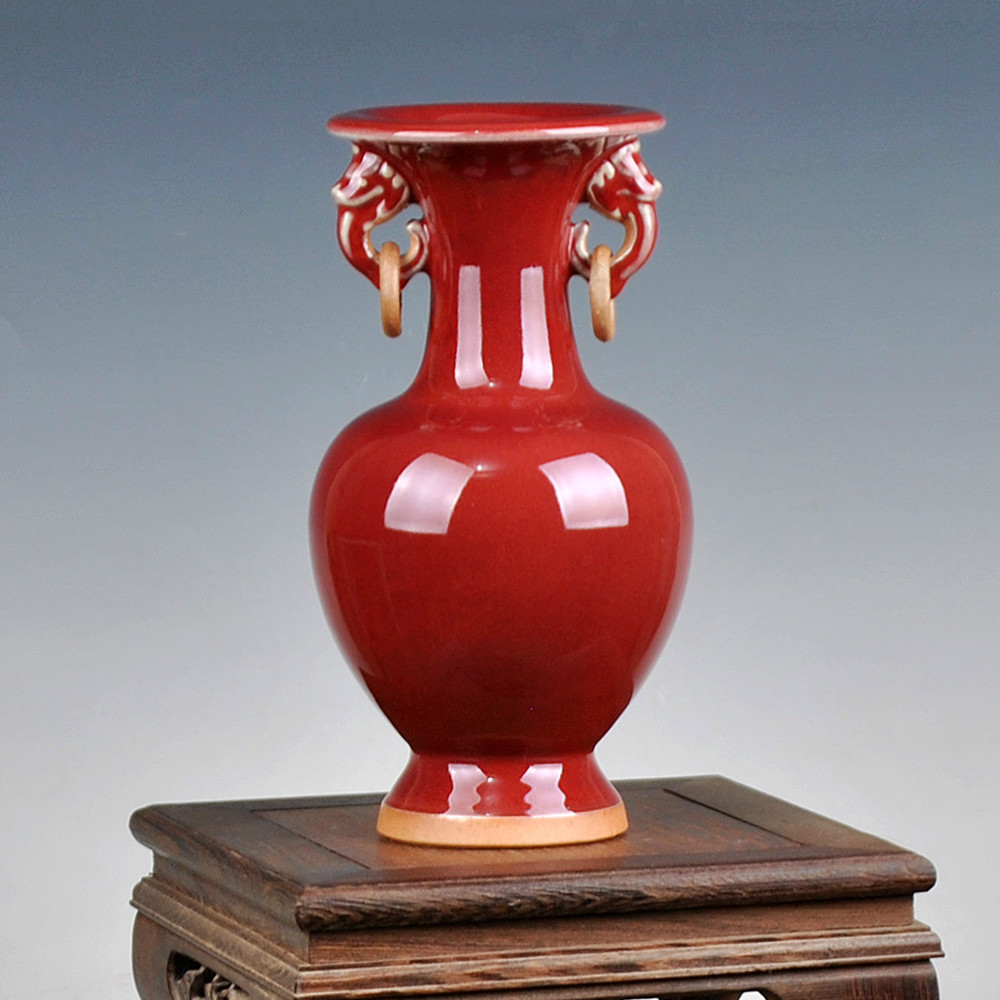 online kaufen gro handel moderne rote vase aus china. Black Bedroom Furniture Sets. Home Design Ideas