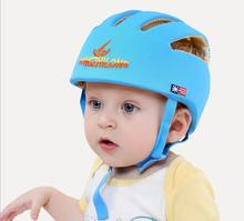 baby safety protective walking helmet  infant girls boys head safety home walker protector children bike hat kids equipment cap