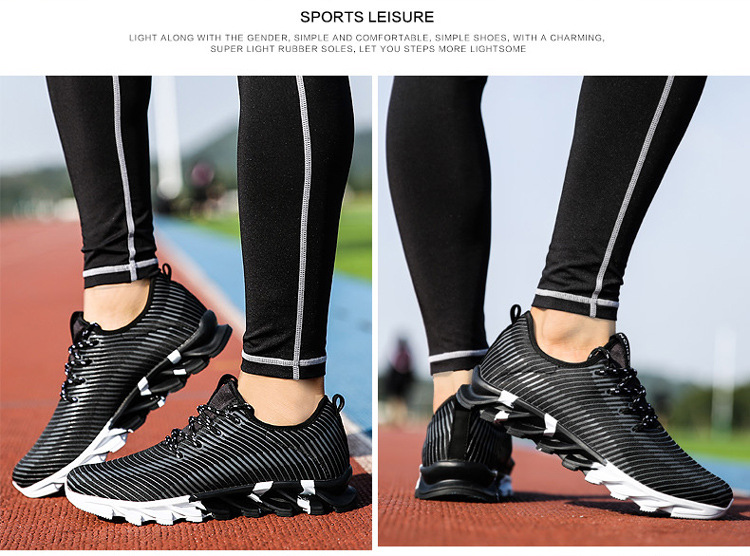 17New Hot Light Running Shoes For Men Breathable Outdoor Sport Shoes Summer Cushioning Male Shockproof Sole Athletic Sneakers 26