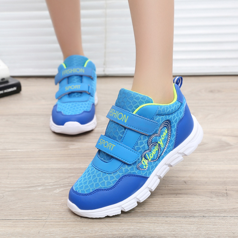 2016 New Children shoes boys sneakers girls sport shoes size 26-39 child trainers breathable kids running shoes<br><br>Aliexpress