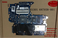 Replacement 687938-001 For HP ProBook 4530S 4730S laptop motherboard in good condition(China)
