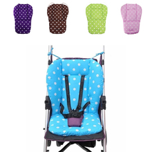 New Thick Colorful Baby Infant Stroller Car Seat Pushchair Cushion Cotton Cover Mat Lovely Cute Design Baby Seat Cushions(China)