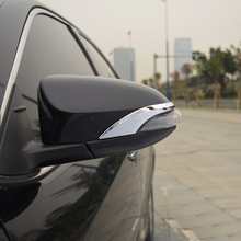 car auto cover styling For Toyota Camry XV50 2015 2016 2017 ABS chrome side fender wing rearview door mirror antiscuff rib trim