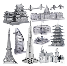 New High Quality Metallic Steel  Nano Intelligence 3D battlefleet gothic Steamer Ship Puzzle Model No Glue Toy Gift Decoration