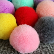 Buy 8pcs DIY 8cm Beaver rabbit Pompom Fur balls Sewing knitted beanies scarves shoes Hats pom pom keychain DIY Accessories for $10.92 in AliExpress store