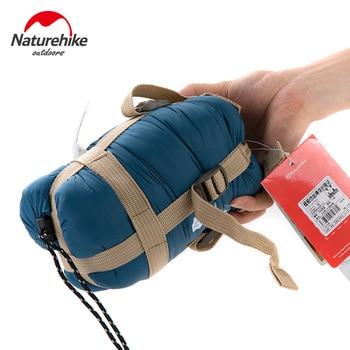 Naturehike ultraleve mini envelope saco de dormir ao ar livre ultra-pequeno tamanho 1.9*0.75 m para camping caminhadas escalada ao ar livre