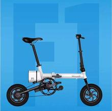 Ideawalk F1 city electric scooter electric folding bicycle, intelligent electric bicycle, mini folding car instead of walking