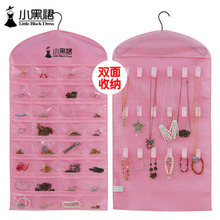 Fashion Creative Hair Accessory and Jewerly Hanging Storage Pockets Non-woven Fabric Hanging Jewelry Organizer Bag