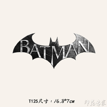 Cartoon bats thermal transfer Offset Tang Hua pattern DIY crafts clothing patch paste decorative decals