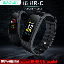IWOWN I6 HR C Smart band Цвет Экран монитор сердечного ритма Смарт-браслет Спорт Smart Band Фитнес трекер В. С. mi Band 1 s(China)