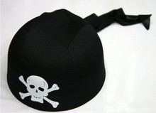 Novelty Pirate hat Skull Bones Vivid Fabric Cap Unisex Shipmaster Halloween Party Role Play Prop Accessory Vent Toy Lovely Gift(China)