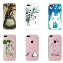 Fundas Coque Case for iphone 6 6s 6plus 7 7plus SE 5 5s Case Capa Stitch Totoro Soft Clear TPU Back Soft Frame Cover Phone Case