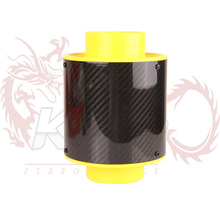 KYLIN STORE  --- 2015 Universal  Air Filter Hotsale Real Carbon Air Filter Car Interior With Car 120mm Carbon Fiber Height