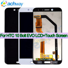 For HTC 10 Bolt EVO LCD Display Touch Screen Digitizer Assembly 2560x1440 Mobile Phone Replacement Parts For HTC Bolt Display(China)