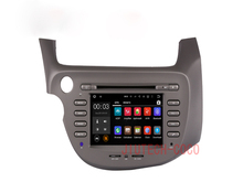 Quad Core Car DVD Player Radio + WIFI GPS Map For HONDA FIT 2007-2013 Left Hand Driving Car gps navigation system