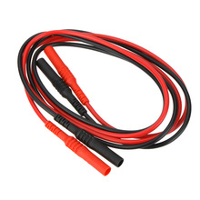 UNI-T UT-L11 High Strength Test Leads Probe Extension Line Cable 100cm for Multimeters Dmm Accessories Ut