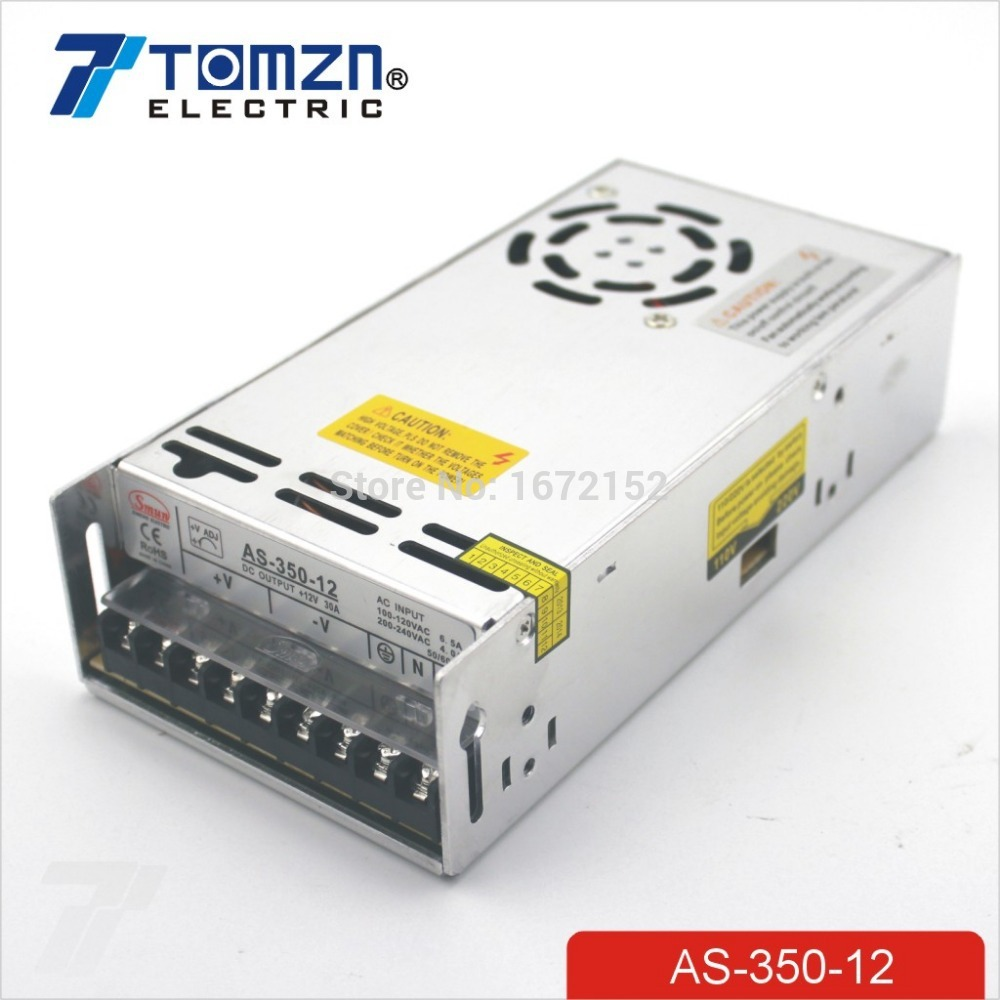 350W 12V 30A Small Volume Single Output Switching power supply for LED Strip CNC 3D Print<br>